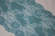 5 yards Light Blue lingerie stretch sewing supplies craft DIY trim lace 5