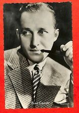 CARTE POSTALE PHOTO BING CROSBY AMERICAN SINGER & ACTOR CHANTEUR & ACTEUR