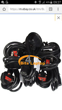 Bulk LOT 80 1.8m  Mains Power PC Kettle Cable Lead 3Pin IEC C13 Monitor Screen