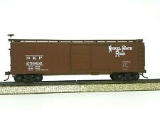 """Walthers/Trainline Ho R-T-R """"Nickel Plate"""" 40' X-29 Steel Boxcar #25922"""
