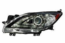 MAZDA 3 2010-2011 HID W/ DRL LEFT DRIVER HEADLIGHT FRONT LAMP HEAD LIGHT