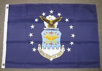 U.S. AIR FORCE  FLAG 2X3 FEET  MILITARY ARMED FORCES USAF 2'X3'  F686