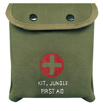 Rothco 8329 M-1 Jungle First Aid Kit - W/belt Clip - Essential Items