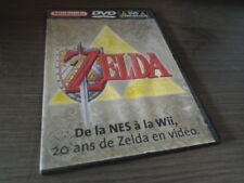 DVD ANTHOLOGIE LÉGENDE OF ZELDA DE LA NES À LA WII NINTENDO COLLECTOR 20 ANS