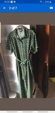 Monki Green Spotty Polka Dot Jumpsuit Smart Size XL 12 to 18