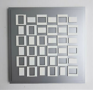 "Victor Vasarely-""SONG""-Wood relief-1970-Signed"
