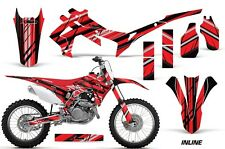 Honda Graphic Kit AMR Racing Bike Decal CRF 450R Decal MX Parts 05-08 INLINE RED