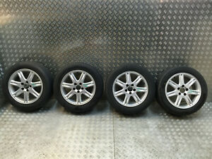 2000-2010 VOLVO S60 V70 S80 4 ALLOY WHEELS WITH TYRES 5X108 6.5J R16