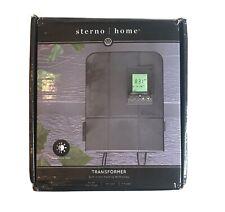 New listing Sterno Home Gl33300 12V 300W Low Voltage Landscape Lighting Transformer