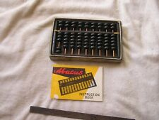 Vintage Wood Abacus Instruction Book Japan