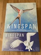 Wingspan Board Game + European Expansion - Stonemaier STM910 Swift Starter Pack