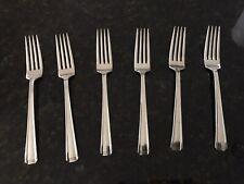 New listing 6 Westmorland John And Priscilla Dinner Forks