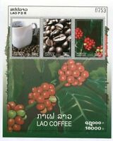 LAOS STAMP 2008 LAO COFFEE SHEET