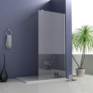 Walk in Wet Room Shower Screen Panel 8mm EasyClean Glass Shower Cubicle