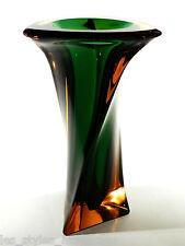 Erich JACHMANN xxl Glasvase °  WMF 7Kg. Glas Bodenvase ° asymmetrische Form