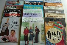 Ladies Knitting Patterns Stoles Cardigans Afghans Vintage Booklets Lot of 17