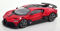 BUGATTI DIVO MET RED 1:18 SCALE MODEL LOVELY COLLECTORS PIECE VERY NICE BOXED