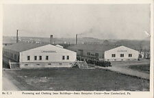 Postcard Military Processing Clothing Issue  Army Reception New Cumberland PA
