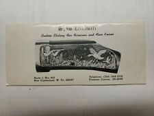 Vintage Shaw = Leibowitz Custom Etching For Firearms And Fine Knives Catalog