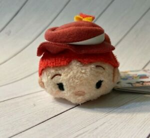 "Disney Store Tsum Tsum Stack Mini Plush 3.5"" Toy Story Jessie *US SELLER*"