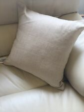 Faux Silk Gold 43cm X 43cm Cushion With Hollowfibre Bounce Back Inner