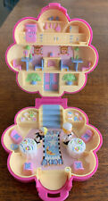 Vintage Polly Pocket Compact, 1990. Mr Fry's Restaurant COMPLETE