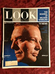 LOOK Magazine November 7 1961 ARTUR RUBINSTEIN BETTE DAVIS