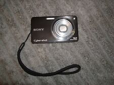 Sony CyberShot 14.1MP Black DSC-W350