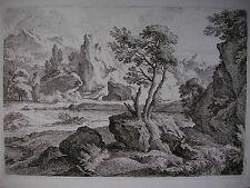 RECHBERGER ´DER KLEINE FLUSS NACH DIETRICH (DIETRICY)´ RADIERUNG, N. 46, 1798