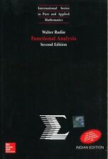 NEW Functional Analysis by Walter Rudin 2 ED INTL ED