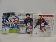 5 ) 3DS 3 Spiele 3 Stück - PES 2012 , FIFA 13 und FIFA 14 in OVP