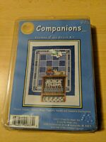 Cross My Heart COMPANIONS Counted Cross Stitch Kit From 2001 Cat and Teddy