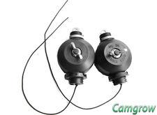 2 X EZ ROLLS, EASY ROLLERS, GROW LIGHT HANGERS/ADJUSTERS