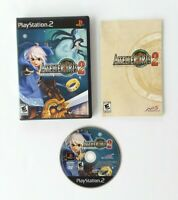 Atelier Iris 2 The Azoth of Destiny Sony PlayStation 2 2006 CIB Complete PS2