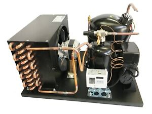 New! Indoor Condensing Unit, 3/4 HP, High Temp, R134a, 115V (Embraco NJ6220Z1)