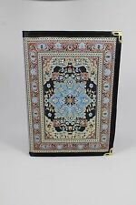 FANCY TURKISH KILIM DESIGN DIARY NOTEBOOK MADE IN TURKEY UNIQUE GIFT IDEA NEW