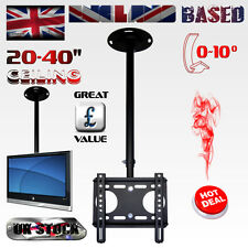 TV MONITOR CEILING MOUNT TELESCOPIC BRACKET / TILT - 10° / TV SIZE: 20-40''  LCD