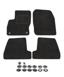 Velours Fußmatten für FORD FOCUS 3 MK3 2011 - 2018 ST Automatten Stoff