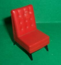 VINTAGE DOLLS HOUSE TRIANG SPOT ON G PLAN TV CHAIR 1960's LUNDBY SCALE