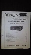 Denon pma-1520 service manual original repair book stereo amp amplifier