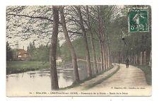 chatillon-sur-seine  , promenade de la douix , bords de la seine