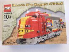 Lego 10020 Santa Fe Super chief 9v Train Vintage 2002 BNISB