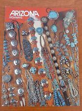 Magazine Arizona Highways March 1975 jewelry edition