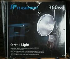 New listing Flashpoint StreakLight 360 Ws Flash Ttl with Bp-960 Power Pack. Exc. condition