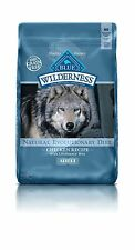 Wilderness Blue Buffalo High Protein Dry Adult Dog Food 24 lb Free Shipping