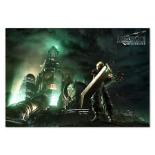 Final Fantasy 7 Remake Poster - Official Key Art - High Quality Prints