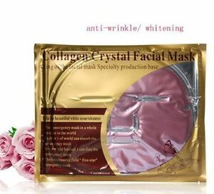 10x Red Wine Collagen Facial Face Masks Anti Aging Wrinkle Repair Whitening Tony
