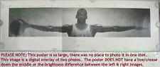 FULL SIZE ☆ Nike Poster ☆ WINGS ☆ Michael Jordan ☆ 1989 ☆ 1st Print ☆ BIG PICS!