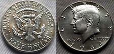 1964 P AU Kennedy Half Dollar 90% Silver US Mint Lot 10