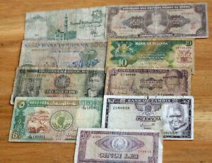 Lot Banknoten--Welt--Gebraucht--